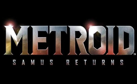 Metroid Samus Returns logo negro