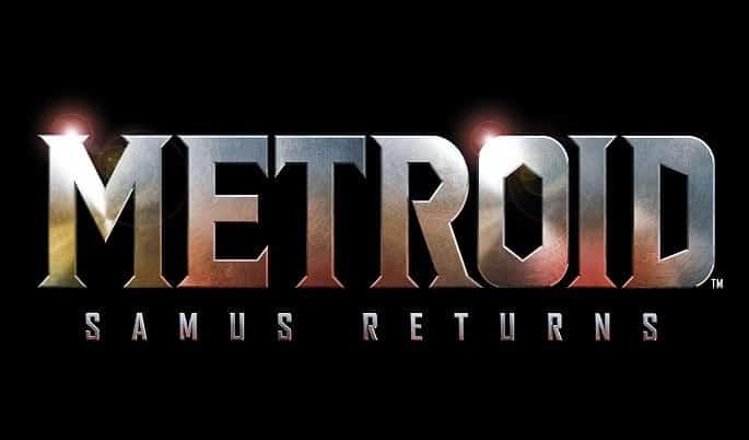 Metroid Samus Returns logo negro