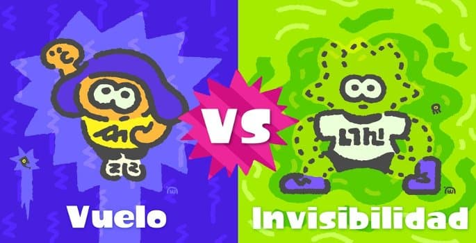 Splatoon 2 - volar vs invisibilidad