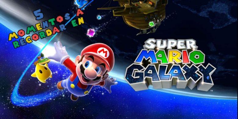 5 momentos recordar Super Mario Galaxy