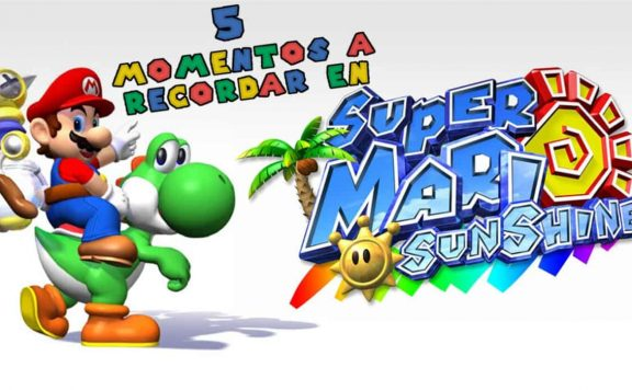 5 momentos recordar Super Mario Sunshine