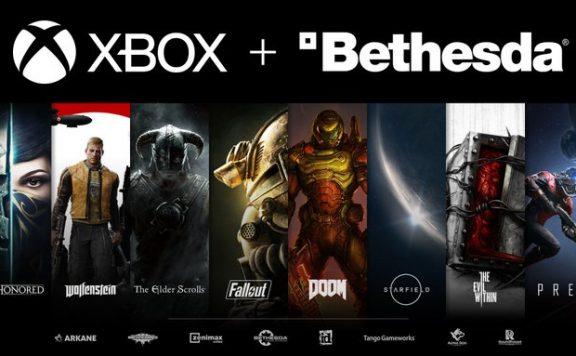 Imagen corporativa de Xbox y Bethesda