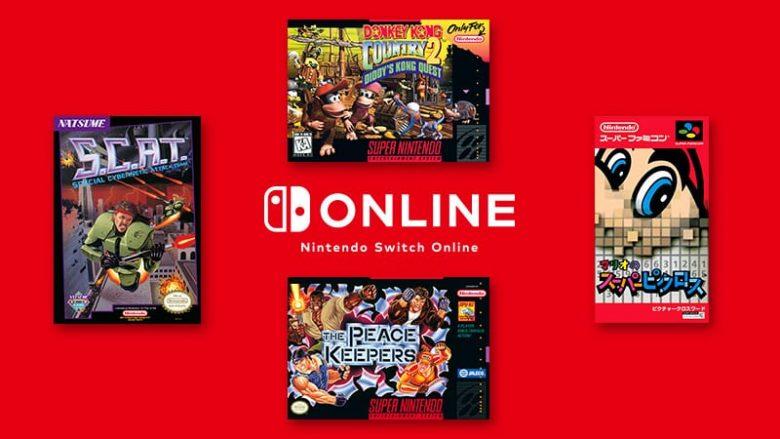 Nintendo Switch Online septiembre 2020