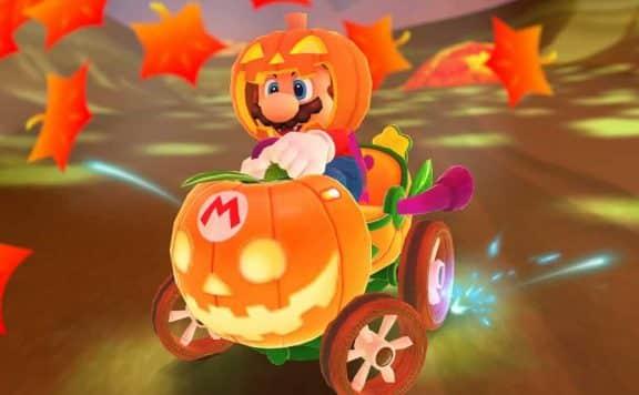 Mario Kart Tour Halloween