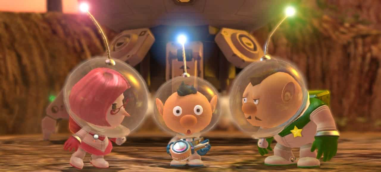 Personajes Pikmin 3 Delux