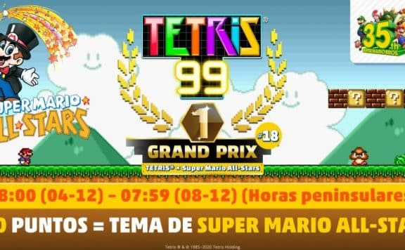 Tetris 99 Grand Prix 18