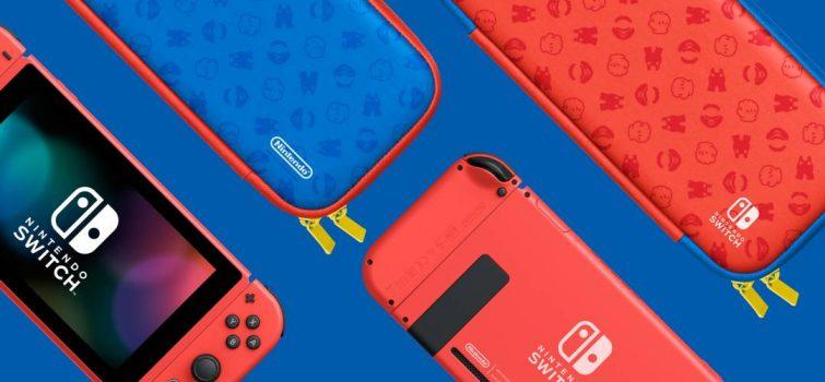 Imagen de Nintendo Swtich edición Mario