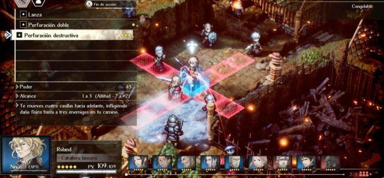 Imagen ingame del juego