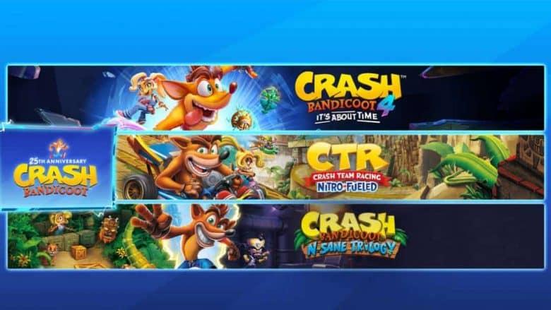 Crash Bandicoot - Lote Crashiversary