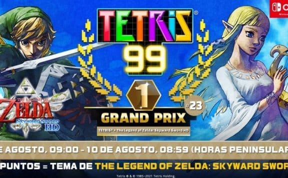 TETRIS 99: Grand Prix 23